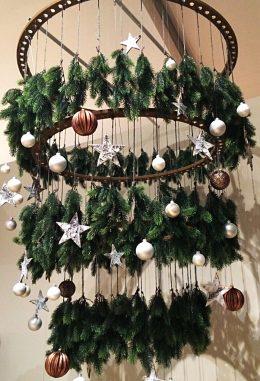 Pine chandelier