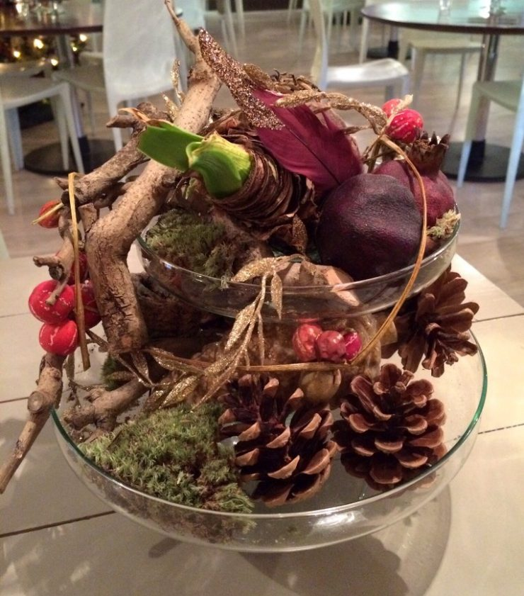 display-pinecones